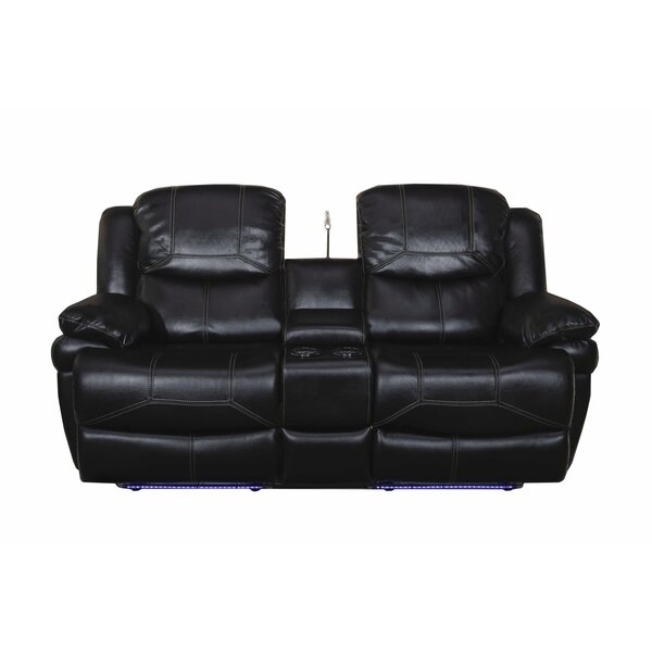 Search Sale Prices Carina Dual Reclining Console Loveseat Get The Deal! 30% Off