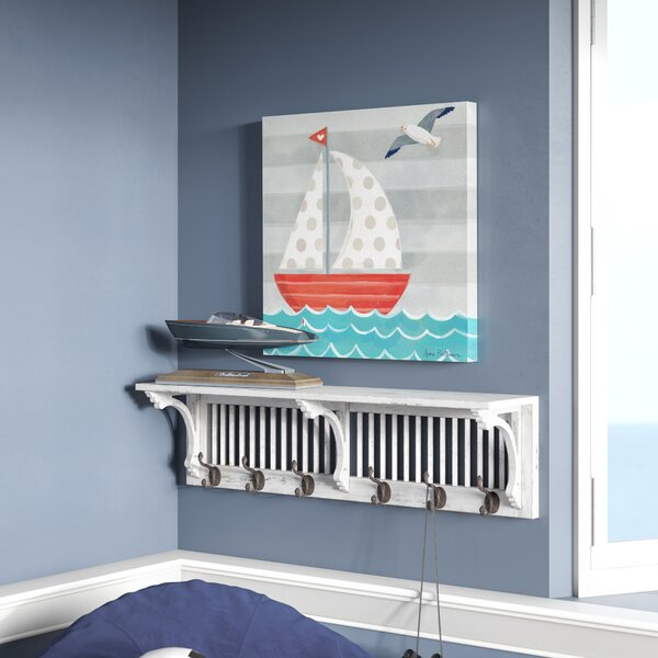Herschel Boat by Anne Bollman Canvas Art by Viv + Rae