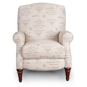Darby Home Co Francis French Font Manual Recliner