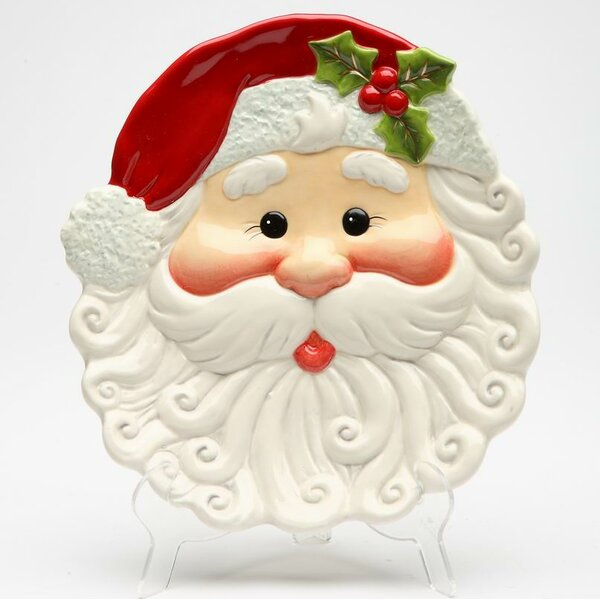 I Believe Santa Charger (Set of 4) by The Holiday Aisle