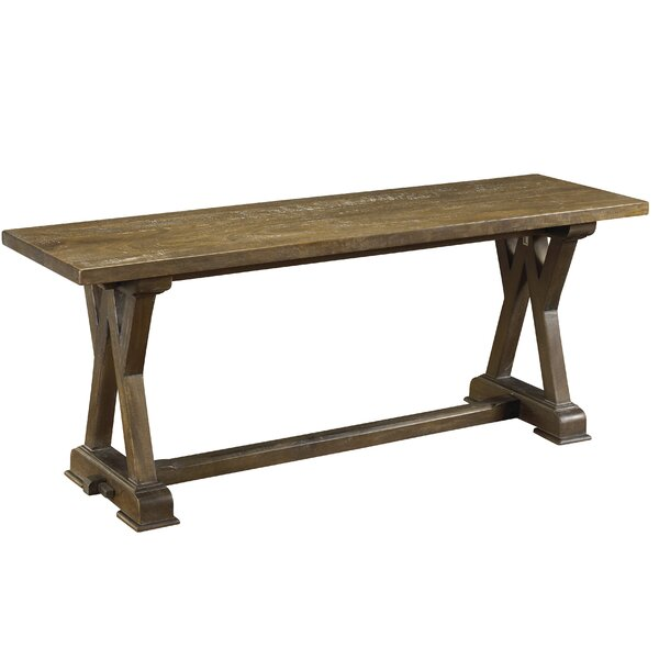 Plaisance Wood Bench by One Allium Way