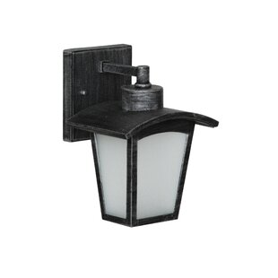 Price comparison Leida 1-Light Outdoor Wall Lantern By Red Barrel Studio