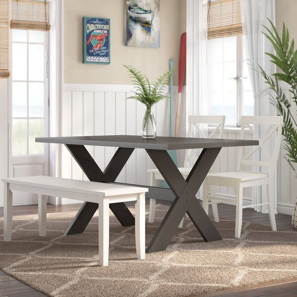Rossetti 4 Piece Dining Set by Beachcrest Home