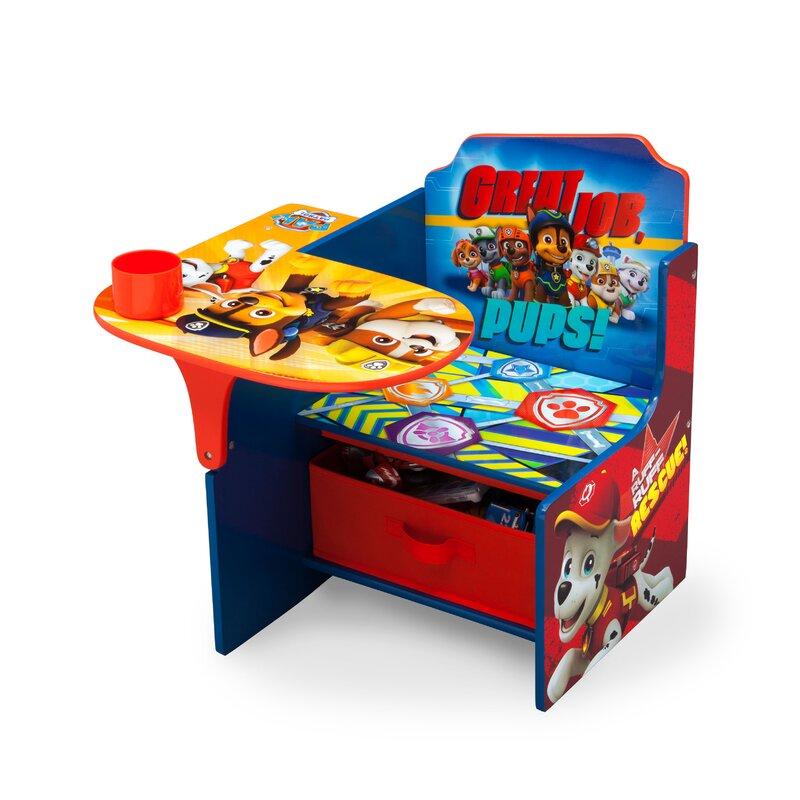 Delta Children Nick Jr Paw Patrol Kids Desk Chair With