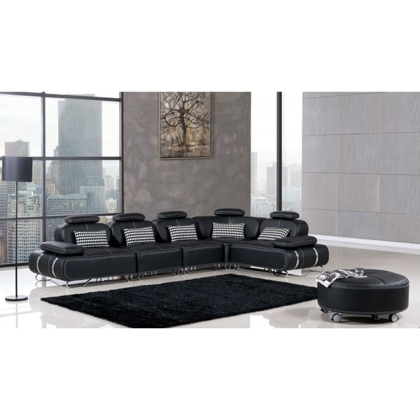 Kling Symmetrical Modular Sectional with Ottoman by Orren Ellis