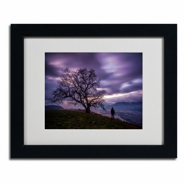 The Tree of Love Grenoble by Mathieu Rivrin Framed Photographic Print by Trademark Fine Art