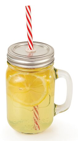 Country Home 16 Oz. Mason Jar by Twine