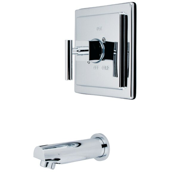 Single Handle Wall Mounted Tub Spout With Handshower By Kingston Brass