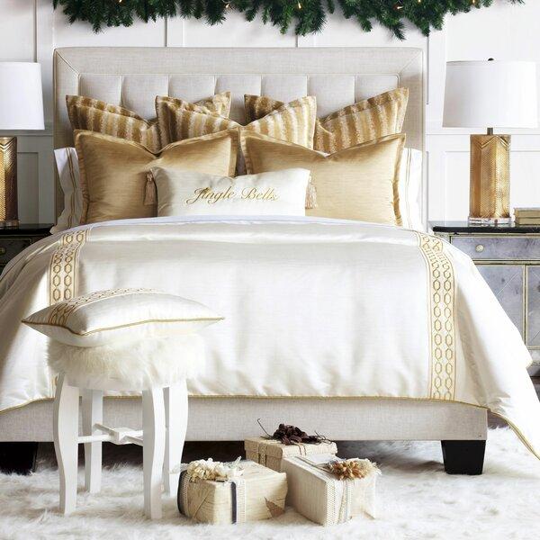 Mistletoe Border Trim Single Comforter