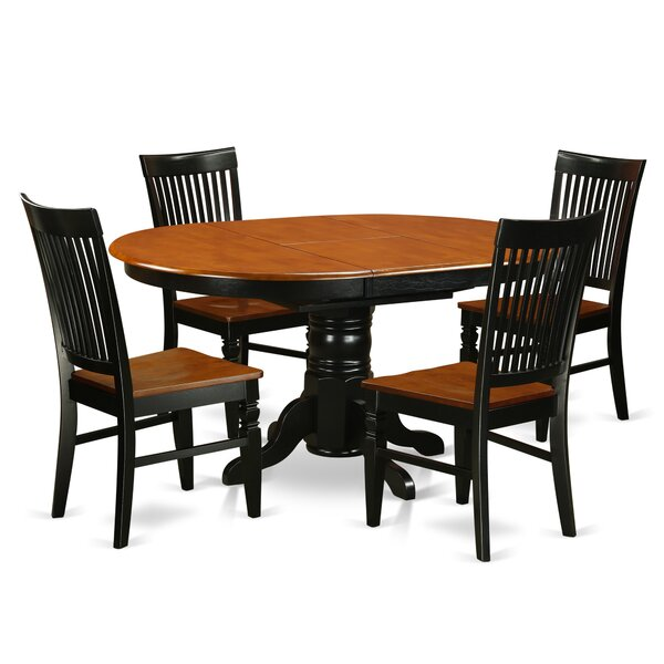 Piland 5 Piece Breakfast Nook Dining Set by August Grove