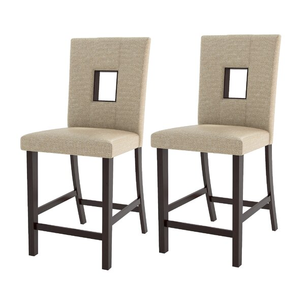 Burgess 25 Bar Stool (Set of 2) by Red Barrel Studio