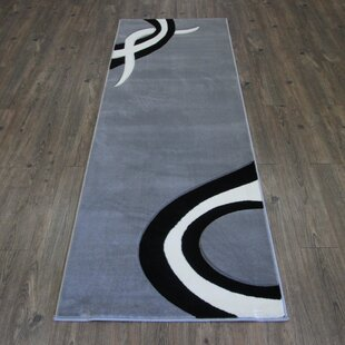Purchase Geo Gray/Black Area Rug By Rug Factory Plus