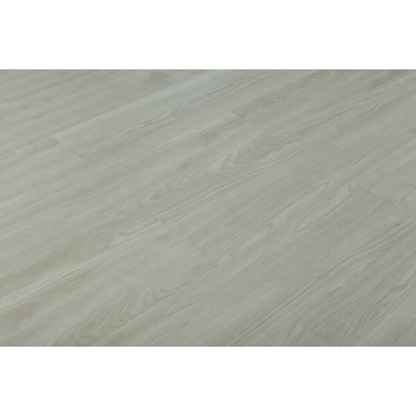 Donte 6 x 48 x 4mm Maple Luxury Vinyl Plank in Gray by Adaptafloor