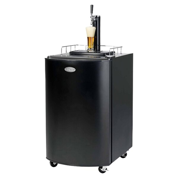 5.1 cu. ft. Single Tap Full Size Kegerator by Nostalgia
