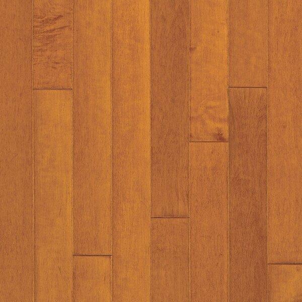 Turlington 5 Engineered Maple Hardwood Flooring in Low Glossy Cinnamon by Bruce Flooring