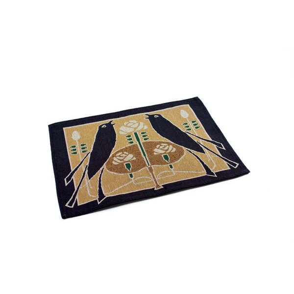 Motawi Songbirds Placemat (Set of 4) by Rennie & Rose Design Group
