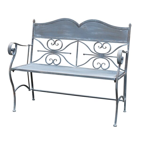 Regena Iron Park Bench by Highland Dunes