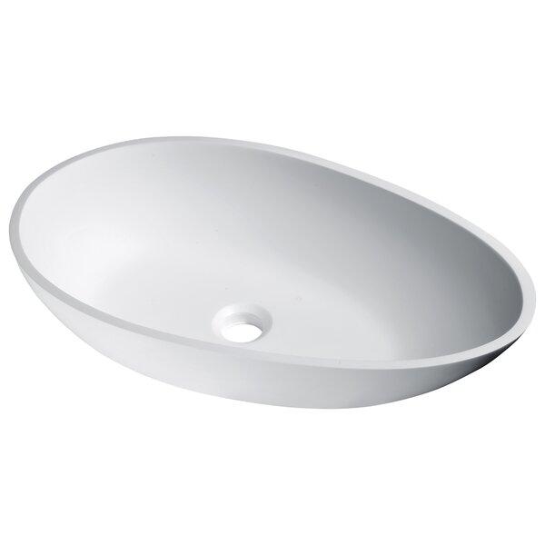 Anoda Plastic Oval Vessel Bathroom Sink by ANZZI