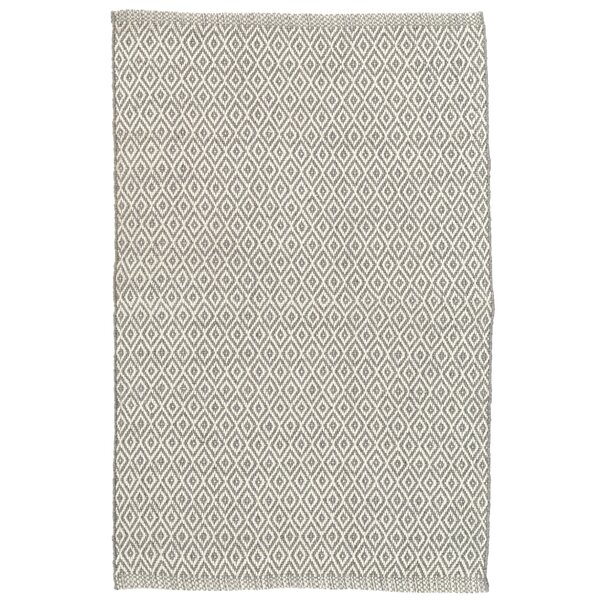 Crystal Gray/Ivory Indoor/Outdoor Area Rug by Dash and Albert Rugs