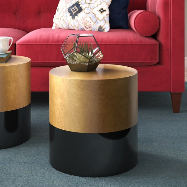 Kaj End Table by Willa Arlo Interiors