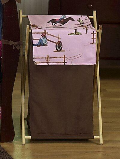 Cowgirl Laundry Hamper by Sweet Jojo Designs