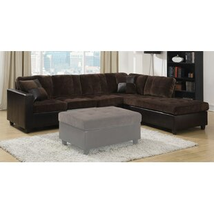 Swayne Reversible Sectional Red Barrel Studio