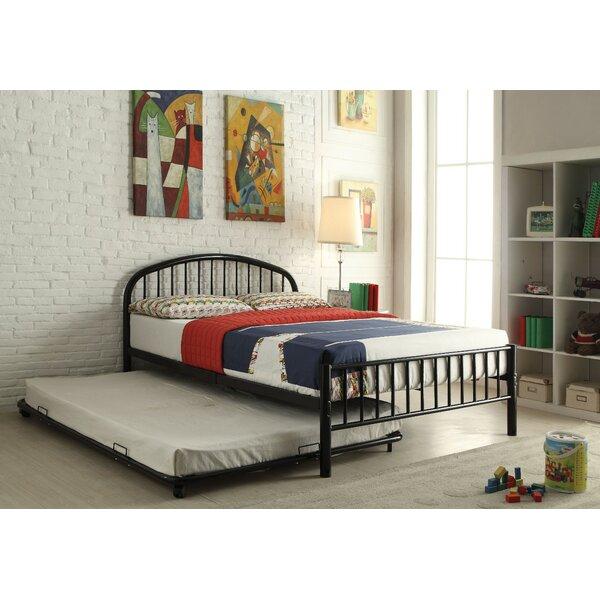Kinner Metal Full Platform Bed by Winston Porter