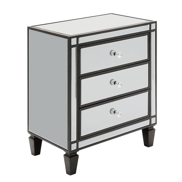 Jordao 3 Drawer Rectangular Accent Chest by Willa Arlo Interiors