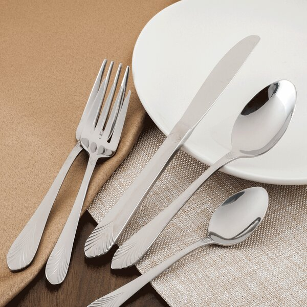 Knuth 40-Piece Flatware Set by Mercer41