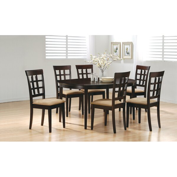 Amoura 7 Piece Dining Set By Red Barrel Studio