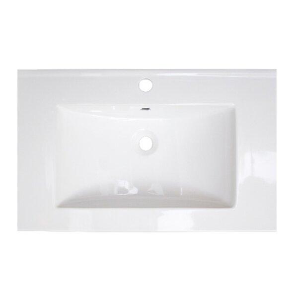 Kyra 89 Rectangle Double Bathroom Vanity Set by Orren Ellis