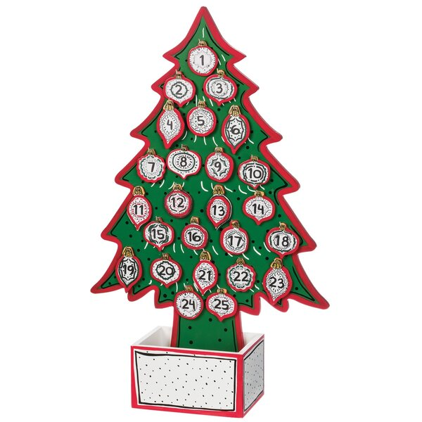 Celia Tree Advent Calendar Tabletop Decor by The Holiday Aisle