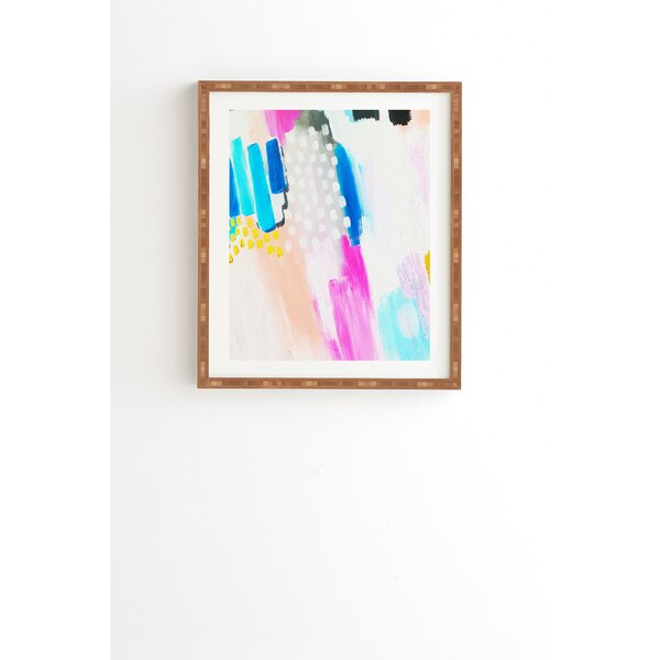 Free Abstract Framed Painting Print by East Urban Home
