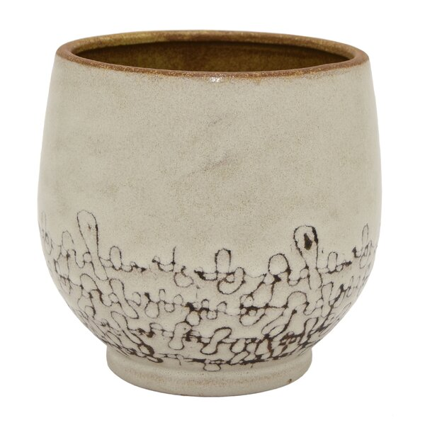 Coulombe Ceramic Pot Planter by Bungalow Rose