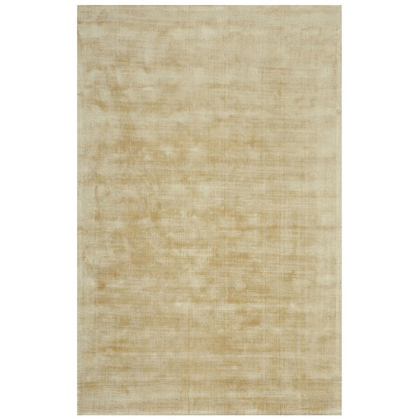 Antique Hand-Woven Ivory Area Rug by YumanMod