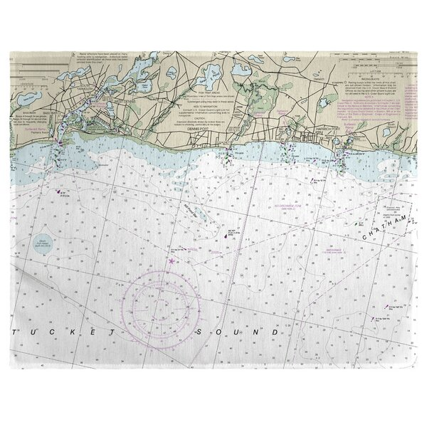 Harwich Port, MA 18 Placemat (Set of 4) by East Urban Home