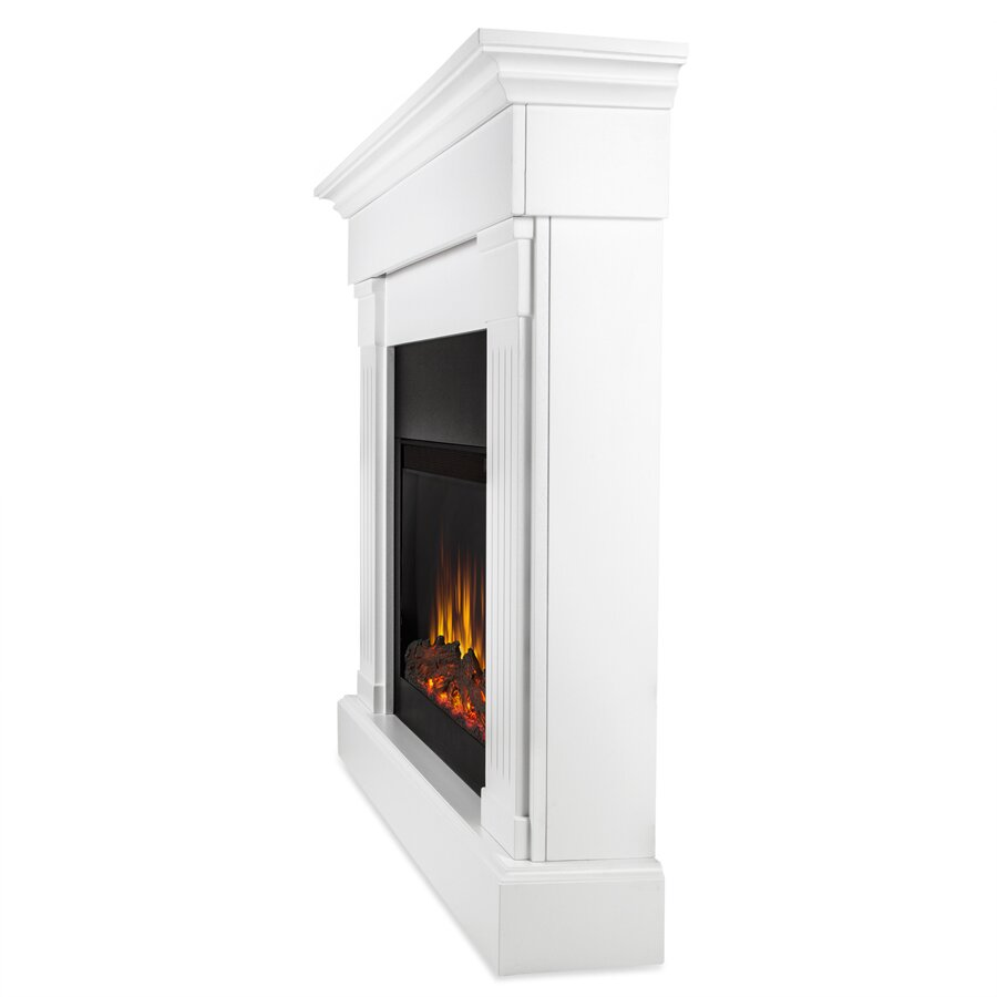 Slimline Wall Mounted Electric Fires: Real Flame Slim Crawford Wall Mount Electric Fireplace