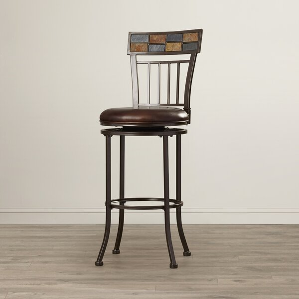 Lawing 30 Swivel Bar Stool by World Menagerie