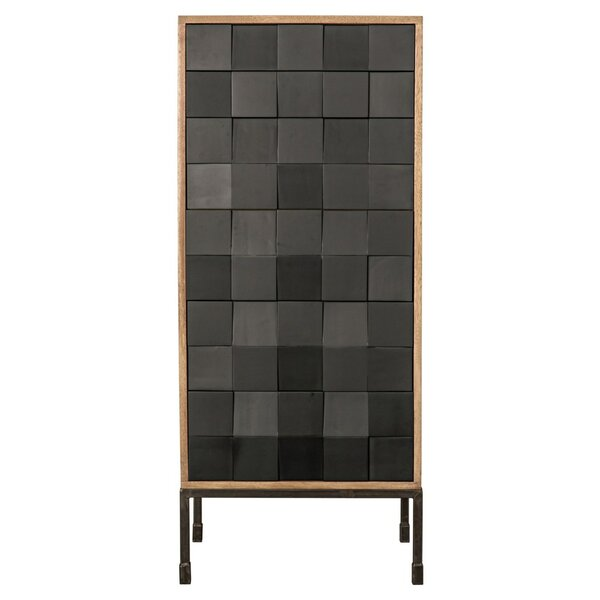 Bovery Hutch 6 Drawer Accent Chest by Noir