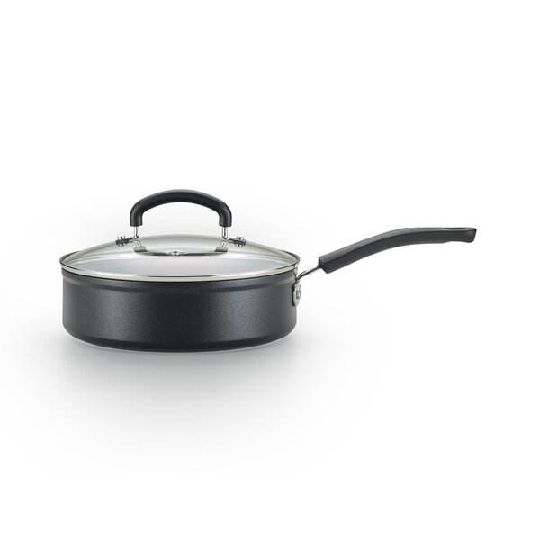 5 qt. Forged Jumbo Saute Pan with Lid by T-fal