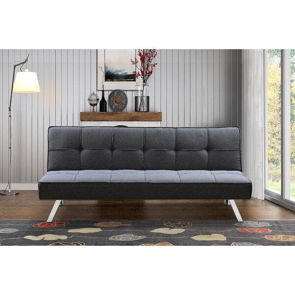 Breitkoff 3-Seat Futon Convertible Sofa by Orren Ellis