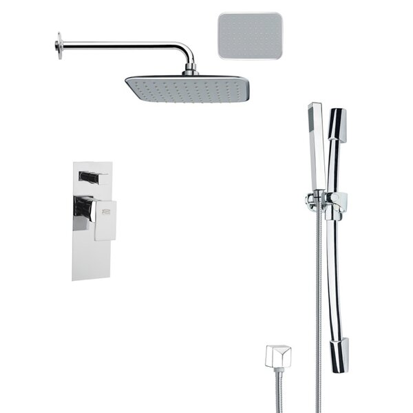 Rendino Pressure Balanced Complete Shower System with Rough-in Valve by Remer by Nameek's Remer by Nameek's