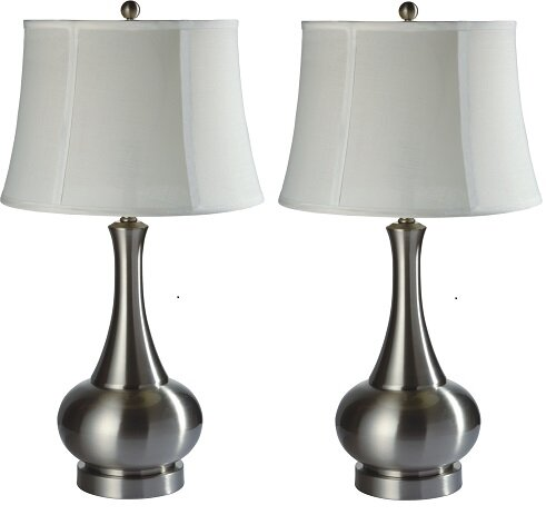 Chantilly Metal 29 Table Lamp (Set of 2) by Red Barrel Studio