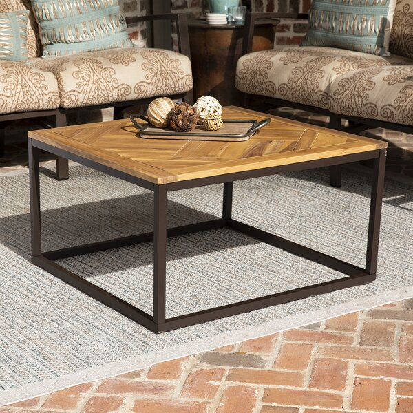 Lona Solid Wood Coffee Table by Wrought Studio