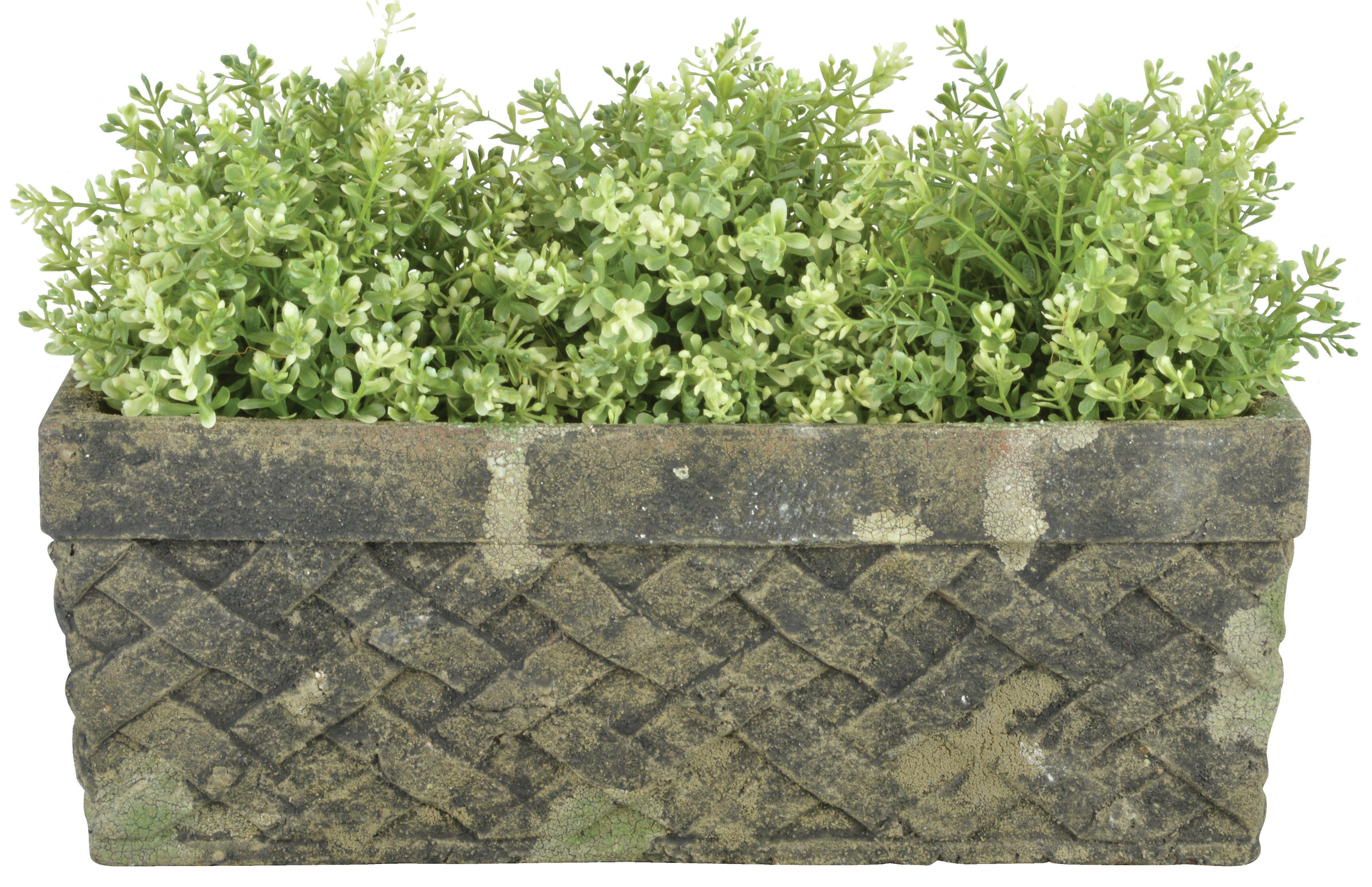 Aged Trough Ceramic Planter Box