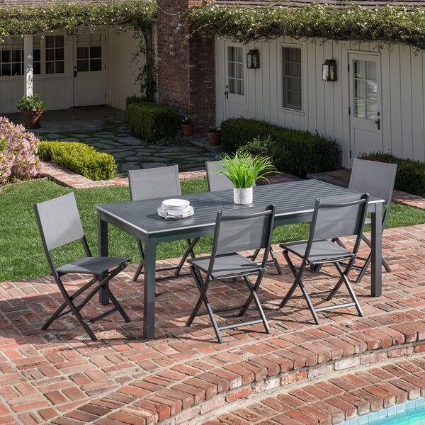 Baysidevillage 7 Piece Dining Set by Latitude Run
