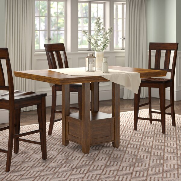 Rebecca Counter Height Extendable Dining Table by Andover Mills
