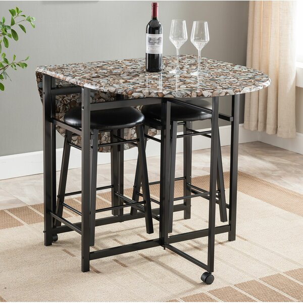 Starling 3 Piece Pub Table Set by Winston Porter