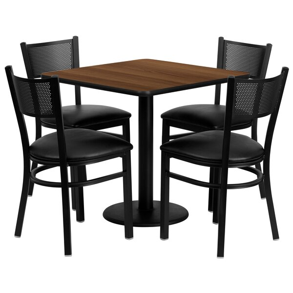 Yash 5 Piece Dining Set by Red Barrel Studio Red Barrel Studio