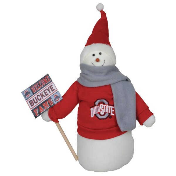Ohio State Snowman Fan by Santa's Workshop